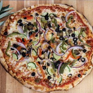 Verdura-Pizza